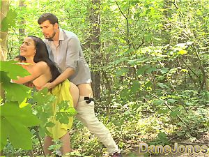 Dane Jones oral pleasure and outdoor fuck-a-thon in a summer sundress