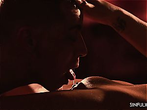 immensely sensuous and passionate night with Daphne Klyde