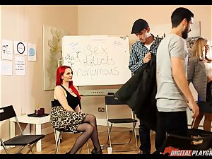 romp addicts anonymous gets a bit warm with Jasmine James and Danny D