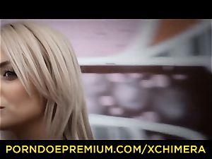 xCHIMERA - erotic fetish bang for Czech babe Katy Rose