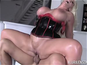 super-naughty Alura Jenson shows her hubby a new side of her