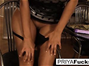 Priya makes herself all scorching and bothered