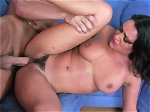Charley pursue gets her cunny filled with rock-hard manstick