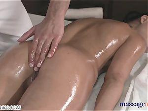 amazing sensuous hook-up during massage