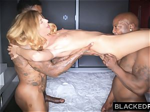 BLACKEDRAW european Model smashes 2 BBCs and Gets predominated