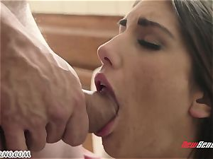 man smashes the wife of his younger brother August Ames