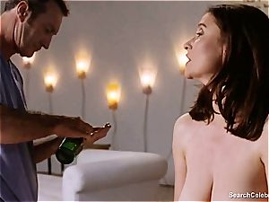 uber-sexy Mimi Rogers gets her entire assets groped