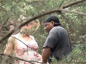 huge-titted stepmom luvs romp in nature