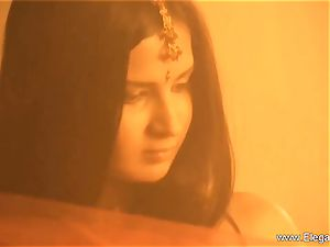 Mysterious Indian woman From Asia
