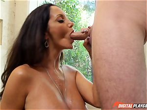 nasty dark-haired Ava Addams has her cool vulva violated into