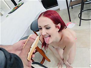 Andi Rye pov penetrate with ultra-kinky vegetarian