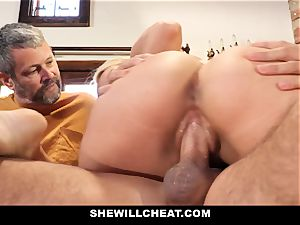SheWillCheat - Step mom Cheats on Traveling spouse