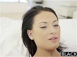 BLACKED nubile Kelly Diamond tries interracial anal invasion lovemaking