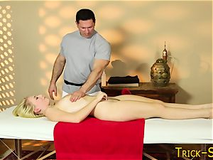 massaged nubile pounded