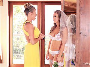 Bride Nicole Aniston last fling with Samantha Saint