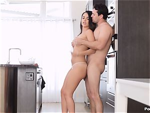 Dillion Harper loves afternoon orgy with her steamy dude