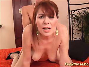 redhead stepmom need a intense man rod