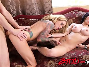 cougar three-way what a penetrating party