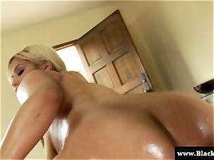 Oily Bridgette B bum bbc porked in this HD vid