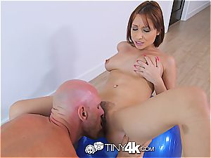 pliable Adessa Winters gets a taste of chisel