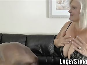 LACEYSTARR - granny begging for young black beef whistle