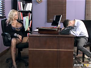 super hot Headmistress Britney Shannon gets her forearms on a super-naughty college girl