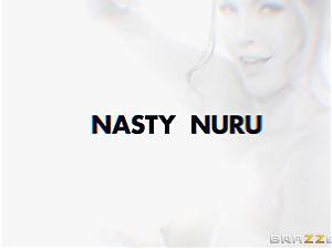 rapid jaws poking nuru massage with Ella Nova
