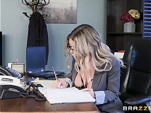 Karma Rx takes cootchie pounded in the office