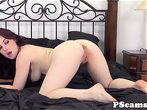 Jessica Ryans donk spilled with jism on cam