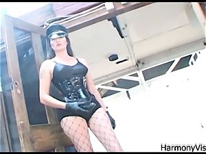 HARMONY VISION anal tearing up Alicia Rhodes with strapon