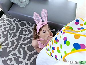 Bunny Summer Brooks plumbed in her little vulva