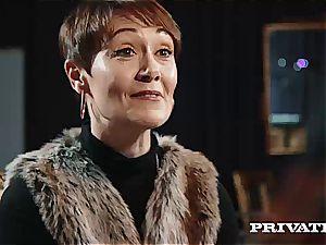 Private.com - Ella Hughes, jizm in Her hairy beaver