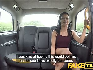 faux taxi hasty fucking and internal ejaculation for peachy booty