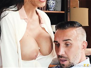 Veronica Rayne bashed and jizzed on her spectacular face