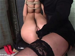 Kathia NObili love doing rope on pulverize on a hot babe