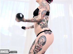 Joanna Angel's Craziest assfuck ravages and DP's Comp!