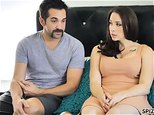 Spizoo - witness Chanel Preston deep throating and screwing