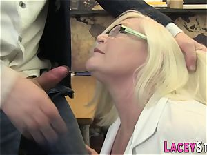 Mature physician butt screwed