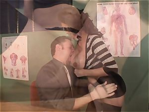 moaning and bellowing Priya Rai popped in the vulva by headteacher