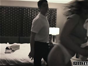 unspoiled TABOO Tricking Momma's guy StepBro into pounding!