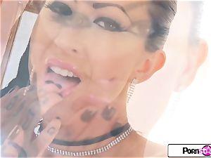 PornstarTease - see gigantic caboose Lily Lane shake for you