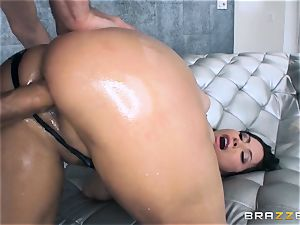 Alexa Nicole gets rump butt-plug and rod in her super-hot arse